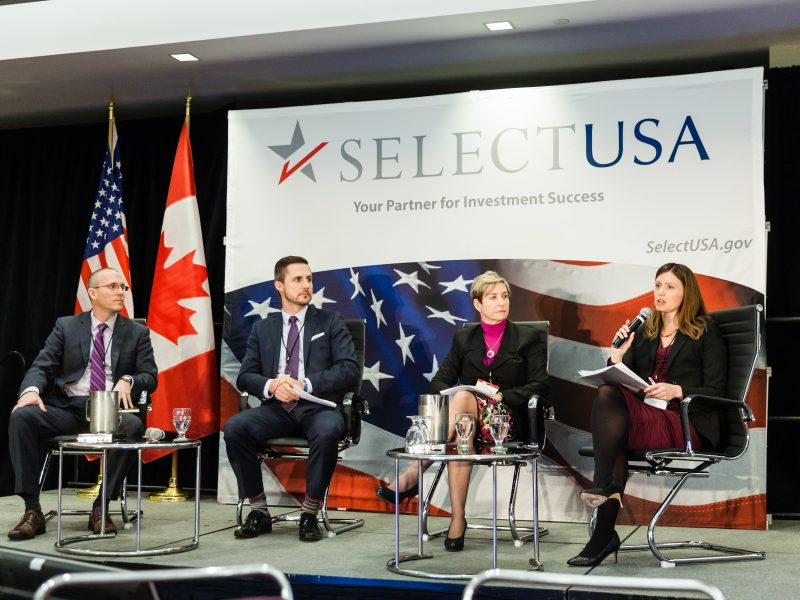 SelectUSA 2015 Canada Conference. November 17, 2015. Toronto, Canada.  (photo: Josh Fee/Vito Amati Photography)